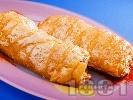 Снимка на рецепта Печен банан в бутер тесто